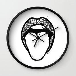 Feelin' Cheeky Wall Clock