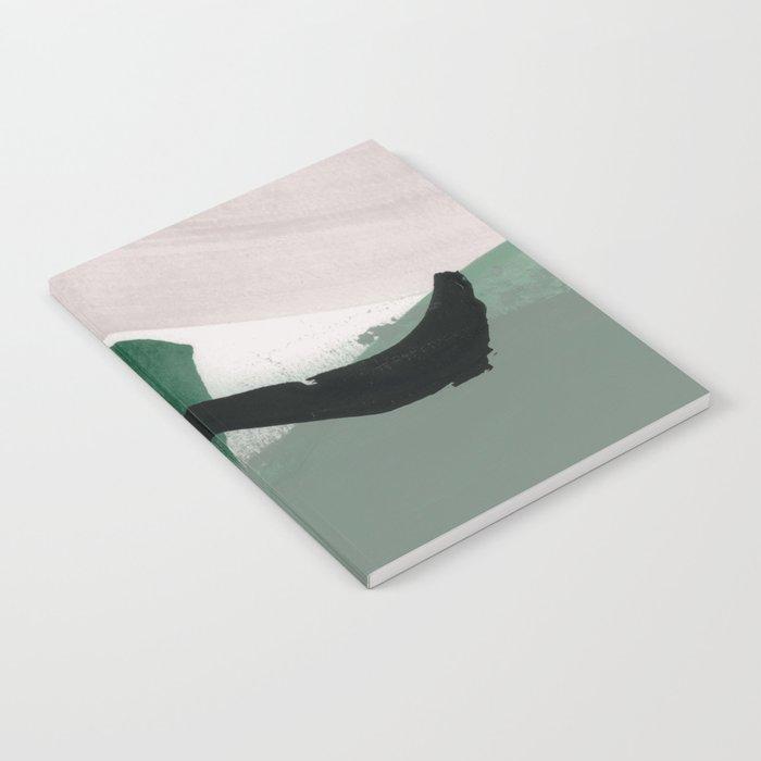 minimalist painting 01 Notebook