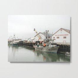 Gone Fishin' Metal Print