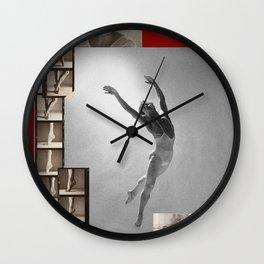 Nureyev Collage Portrait Wall Clock