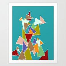 Triads Triads Triads Art Print