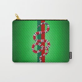 Green Carbon guci Carry-All Pouch