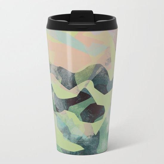 Camouflage X Metal Travel Mug