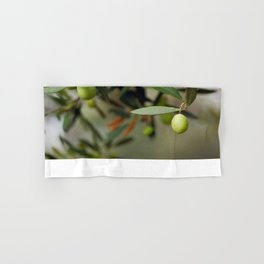 Olives On A Branch Hand & Bath Towel