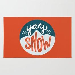 yay snow Rug
