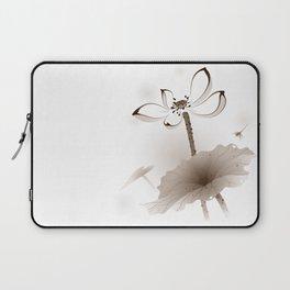 Oriental Lotus 003 Laptop Sleeve