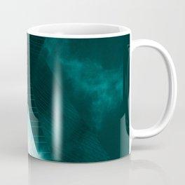 Turquoise skyscraper mill V WH Coffee Mug