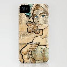 Iron Woman 7 Slim Case iPhone (4, 4s)