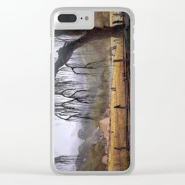 RIVER VILLAGE Clear iPhone Case