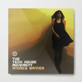 The Tech House Movement Metal Print