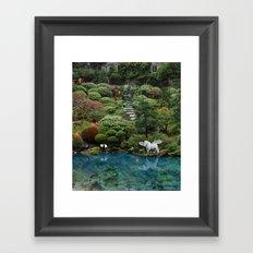 .....swimmingly Framed Art Print