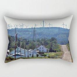 Turbine Hill Rectangular Pillow