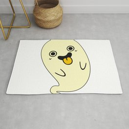 Ghostly Tongue Rug