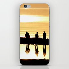 Reflection of Friendship iPhone & iPod Skin