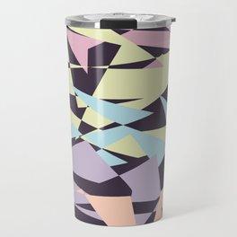 Pastel color block pattern Travel Mug