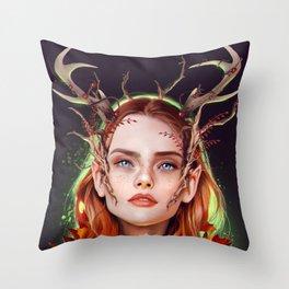 Keyleth Throw Pillow