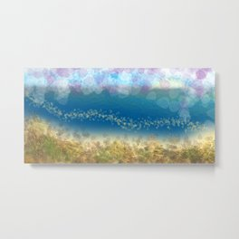 Abstract Seascape 02 wc Metal Print
