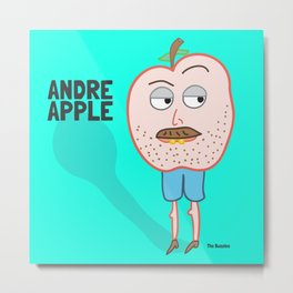 Andre Apple Metal Print