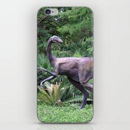 Dinosaur Sculpture iPhone Skin