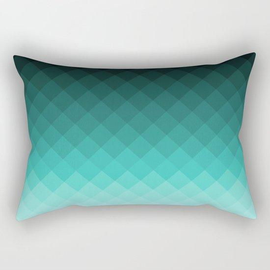 Ombre squares Rectangular Pillow