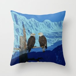 Seeing Double! Throw Pillow
