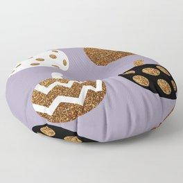 Pick a peck of purple pickled pumpkins Floor Pillow