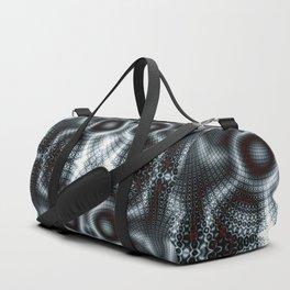 Fractal Art - nuclear fusion Duffle Bag