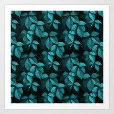 Foliage Pattern II Art Print