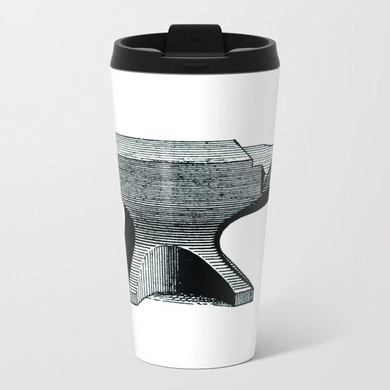 Anvil Metal Travel Mug