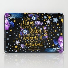 A Court of Mist and Fury - To The Stars iPad Case