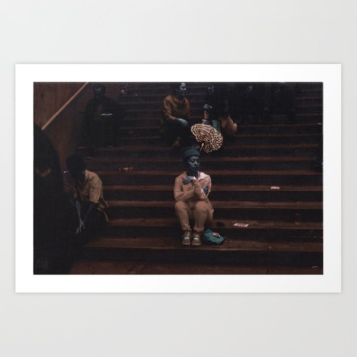 Glimpses of Brooklyn  Art Print