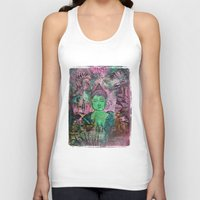 queer Tank Tops featuring Queer Buddha ~ Truth II by Jamila
