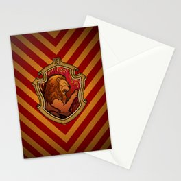 Hogwarts House Crest - Gryffindor Stationery Cards