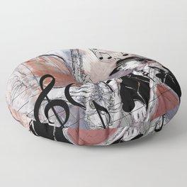 Jazz Men Floor Pillow