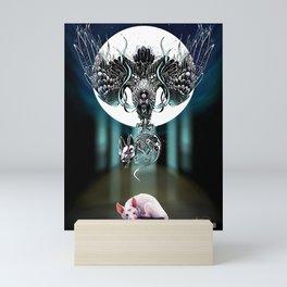 Rat Meditation: Dread Mini Art Print