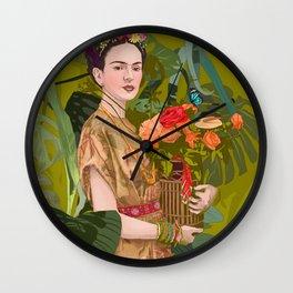 Floreria Wall Clock