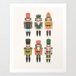 Nutcrackers Art Print
