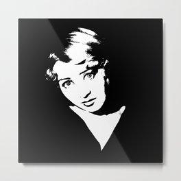 Joan Blondell Is Class Metal Print