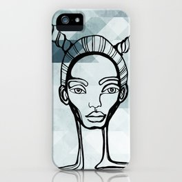 Outlined iPhone Case