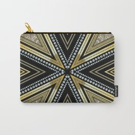 Glam Cross Star Carry-All Pouch