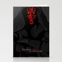 sith Stationery Cards featuring sith lord by shizoy