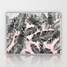 Leaves and pineapples pattern Laptop & iPad Skin