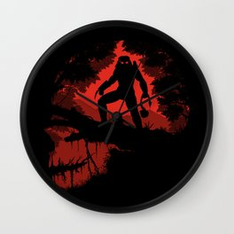 Jungle Hunter Wall Clock