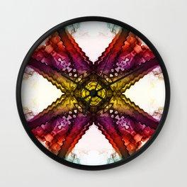 X - 7 Wall Clock