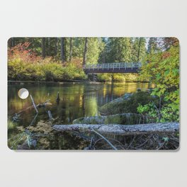 Fall at Clear Lake, No. 1 Cutting Board