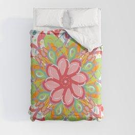 Zesty Mandala Comforters