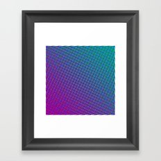 80's grade purple Framed Art Print