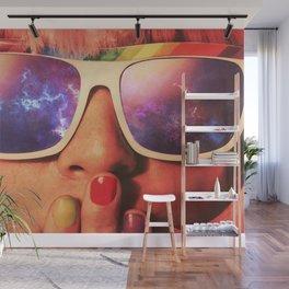 Nebula Girl Wall Mural