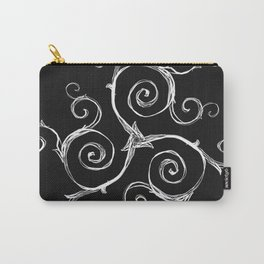 Magic Mandala Twisted Triskele Carry-All Pouch