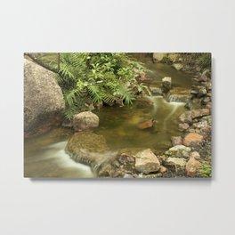 Water Flow Metal Print
